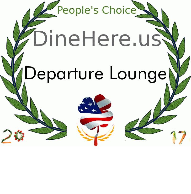 Departure Lounge DineHere.us 2017 Award Winner